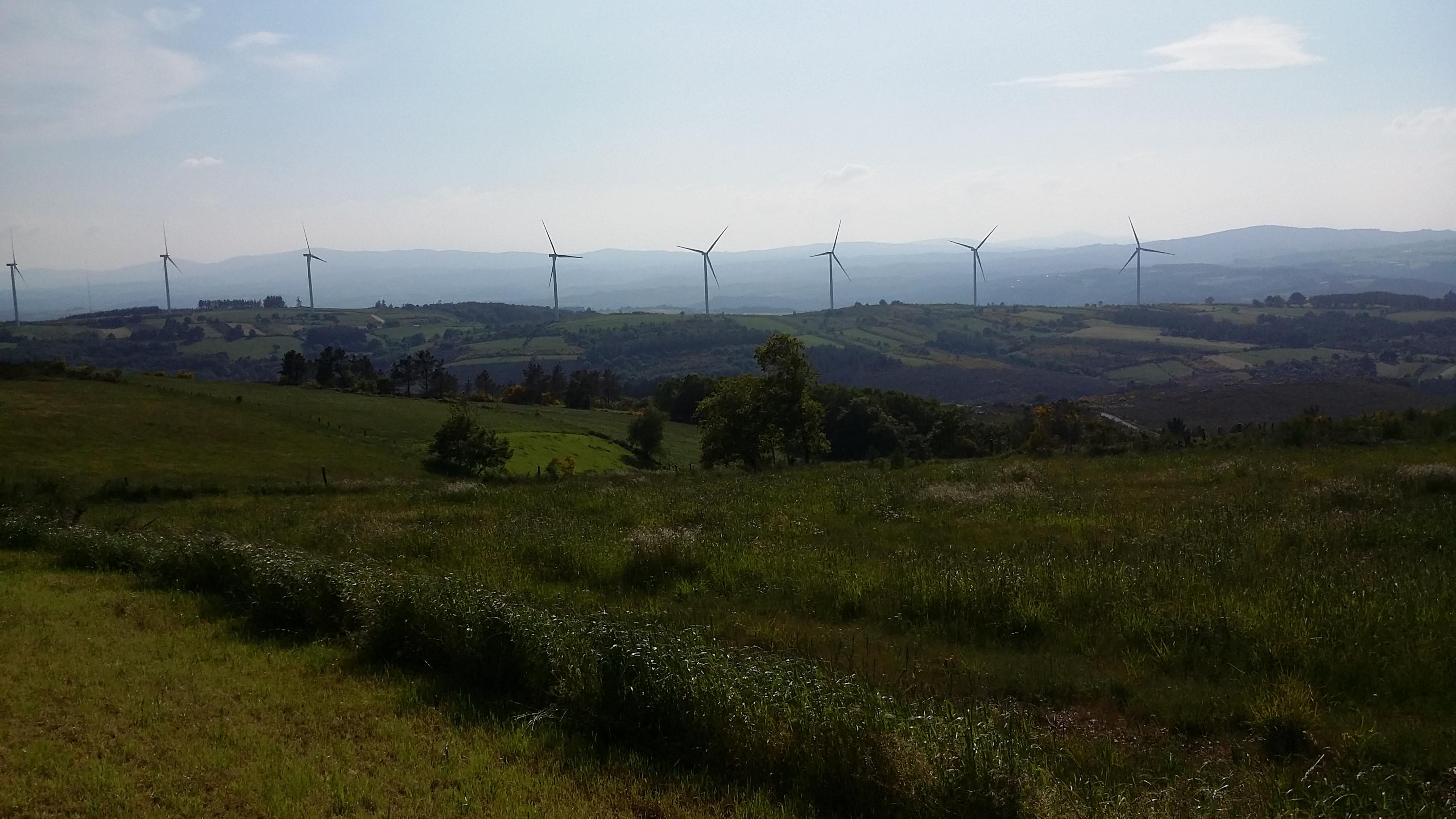 Propietarios de tierras eólicas reciben menos de 750 euros por MW